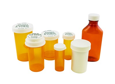 Rexam Prescription Vials, Pet Oval Bottles, Ointment Jars