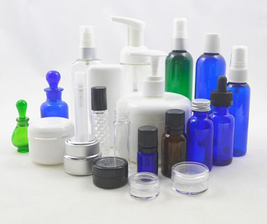 Spa Salon Containers, Bottles, Jars, and Applicators