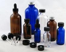 Boston Rounds Glass Bottles