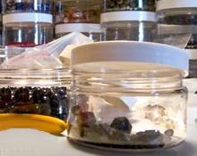 PET Clear Plastic Jars