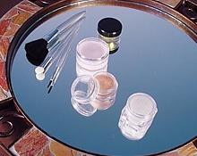 Small Plastic Samples Jars