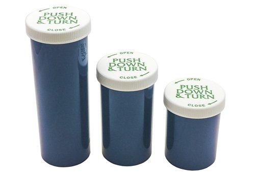 Rexam Prescription Opaque Vials for Medical Marijuana / Cannabis